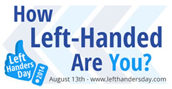 How left-handed are you?